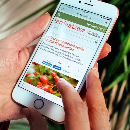 Territori.Coop: il Social Media Marketing per i prodotti tipici
