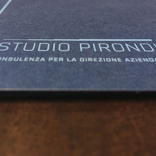 Visual Identity per Studio Pirondi: l'immagine della consulenza